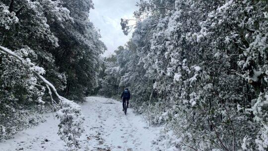 Monte Malbe con la neve