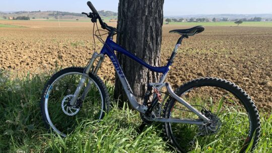 Test bici intorno a San Mariano