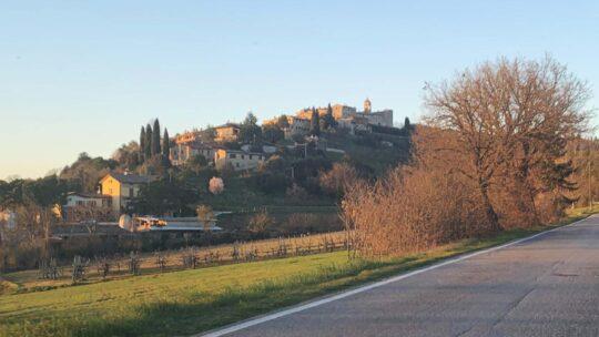 Asfalto a Solomeo e San Mariano